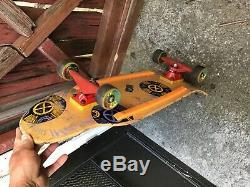 Vintage skateboard old school Powell peralta Tony hawk madallion