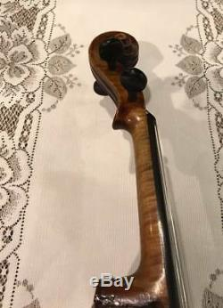 Violin old vintage antique fiddle looks plays and sounds great. Circa 1920's