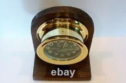 100 Ans Ww1 Us Navy Chelsea Deck Clock No. 2 Circa 1918 All S/n's Match