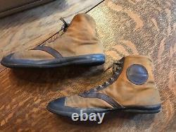 1920 Keds Co Converse Era Pelouse Tennis Sneakers Antique Vieille Vieille Chaussures Hommes 8