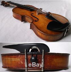 1930 Violon Lionhead Allemande Finale -vidéo- Violine Ancienne Vintage