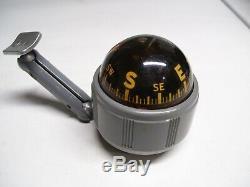 1950' Cadran Original Vintage Airguide Dôme De Tableau De Bord Jauge Boussole Vieux Hot Rod Rat