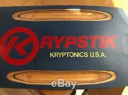 1979 Kryptonics Époque Krypstik Ville Chien Planche À Roulettes Vintage Alva Vieille École