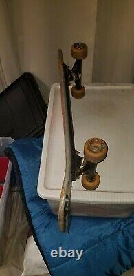 1983 Vintage Skateboard Old School Powell Peralta Tony Hawk Chicken Skull Rare