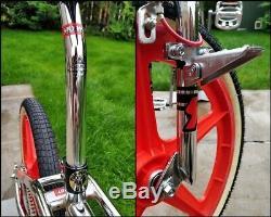 1988 Skyway Street Beat II Replica Mag Wheels Old School Bmx Gt Bike Haro Retro