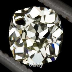 1.05c Coussin Allongé Vieille Mine Coupe Diamond Ancienne Propriété Ancienne 1 Carat 1ct