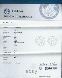 1.5ct Certifié G-h Si Vintage Diamond Stud Boucles D'oreilles Old European Cut Antique Eu