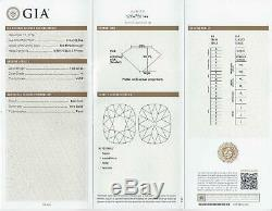 1 Carat Gia Certifié K Vvs1 Ancienne Mine De Diamant Antique Idéal Cut Coussin Vintage