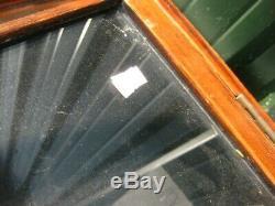38331 Antique Vintage Collectionneurs Présentoir Tin Bouteille D'émail Sign