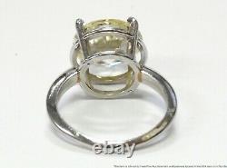 6.80ct Fine Old Euro Diamond Platinum Anneau Dames Antique Ultra Clean Solitaire