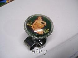 Accessoire D'origine 1940' S S 1950' Vintage Auto Pinup Bouton De Roue Fille De Direction