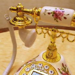 Ancien Téléphone À L'ancienne Rotatif À L'ancienne Style Français À La Française Rétro