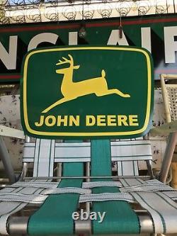 Ancien Vieux Style John Deere Panneau
