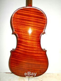Ancien Vintage Wilkinowski Stradiuarius Vintage 1 Pc. Retour Pleine Grandeur Violon