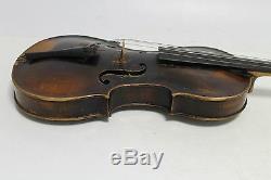 Ancien Violon Allemand Ancien Vintage Jacobus Stainer Dans Un Coffret En Bois - 1780ans