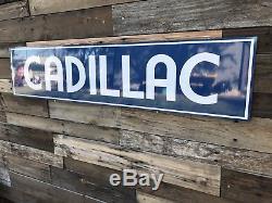 Ancienne Enseigne De Station Service Cadillac De Style Ancien