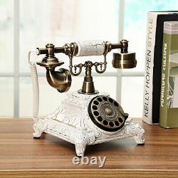 Anciennes Style Européen D'autrefois Cadran Rotatif Téléphone Combiné Téléphonique