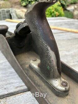 Antique Leonard Victor Bailey # 7 Avion Old Vintage Handplane D'outils À Main