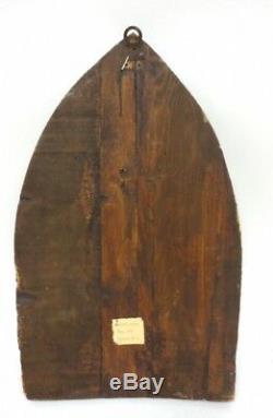 Antique Lippo Vanni 14 C. Jésus Peinture À L'huile Originale Old Rare Art Power Relic