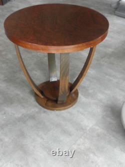 Antique Vieux Coffee Table Art Déco Bois Sofa Siècle En Bois Victorien Vintage
