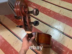 Antique Vieux Vintage 4/4 Cello 1763