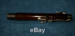 Antique Vintage Old 8 Bois Clé Cocus Irish Flute Butler Londres Et Dublin