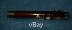 Antique Vintage Old 8 Bois Clé Irlandaise Cocus Flute Butler London Dublin