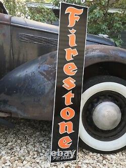 Antique Vintage Old Style Firestone Signe Vintage Look 48