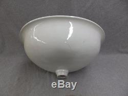 Antiquité Jl Mott Vasque En Marbre De Chine En Porcelaine Vitrifiée Vieux Vtg Plomberie 1011-16