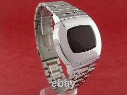 Astronaut 70s 1970s Old Vintage Style Led LCD Digital Retro Watch 12 24 Heures S