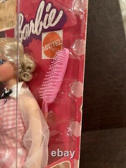 Barbie Mattel No # 4220 Magie Curl Cheveux Rapide Nouveau Vieux Magasin Stock 1972