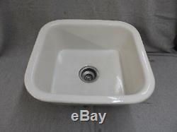 Bassin Blanc En Céramique De Poterie En Céramique Ancien Standard Plomberie 1290-16