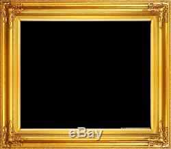 Cadre 24x20 Style Ancien Or Orné Image Peinture À L'huile Cadre 568-3
