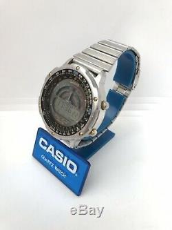 Casio Vintage Dw-7100 Montre Module 913 Mans 200m Rare Retro Vieux Japon