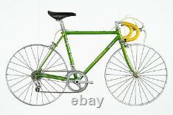 Chirico Kids Bike 24 Campagnolo Steel Road Bike Vintage Lugs Vieux Columbus Tubes