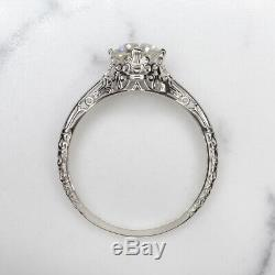 Coupe Anciennes. 94ct Diamond Engagement Ring Anciennes Solitaire 1 Carat