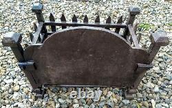 Fire Box Panier Grille En Fonte Fire Place Grill 15.5 X 10 X 15 Old Vintage