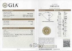 Gia Certified M Vvs2 Vintage Ancien European Cut Diamond Antique Art Deco 20s Rond