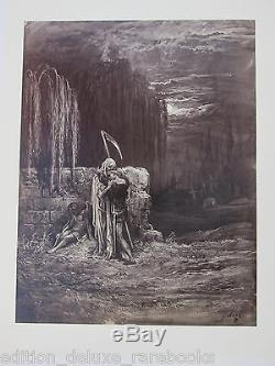 Gustave Dore Rare 1870 Folio Thomas Hood Illustration De Photos Ancien Livre Vtg