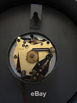 Horloge Moyenne Industrielle Moderne Industrielle IBM Bauhaus Vintage