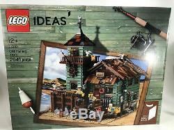 Idées Lego 21310 Old Fishing Magasin Nouveau En Usine Sealed Box