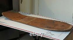 Jeff Grosso Santa Cruz Vintage Skateboard Rip Og Toy Box 1987 USA Très Rare Old