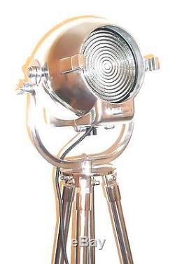 Lampe De Cinéma Vintage De Cinéma Art Deco Vintage, Lampe Industrielle, Stade Ancien, Trépied 123