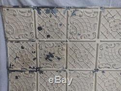 Motif Décoratif De Plafond Ancien Antique Récupéré De 100 Pieds Carrés