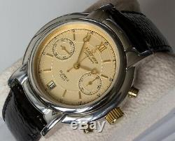 New Old Stock Poljot / Maktime 3133 Mouvement Chronographe De Luxe De Style