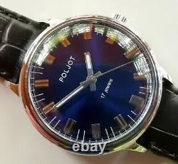 New Vintage Old Stock Ussr Made Poljot Luxury Mechanical Watch 2609 Mouvement