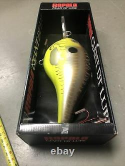 Nouveau Rapala Giant Dt Lure Display Finnish Minnow 24 Original Box 2006 Old Stock