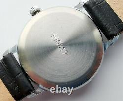 Nouveau Vintage Old Stock Poljot Montre Mécanique 2609 Mouvement Style Militaire