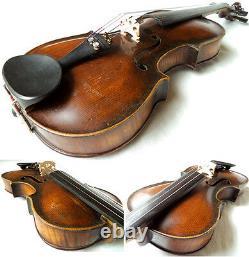 Old German Violin Stainer / Klotz- Vidéo Antique Rare 252