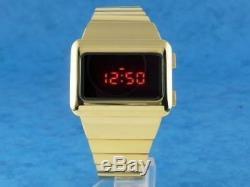 Or X-men Apocalypse 1970 Old Style Vintage Numérique Led Rare Retro Mens Watch